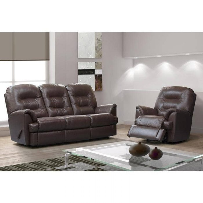 brittany leather recliner