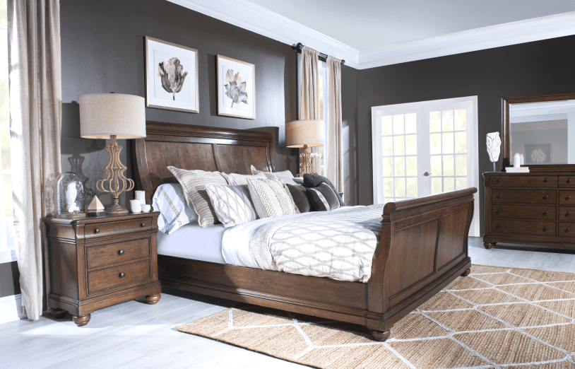 sleigh bedroom coventry collection